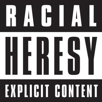 warning of explicit racial content